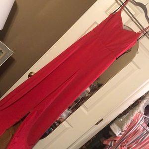 Lulus Hot Pink Jumpsuit